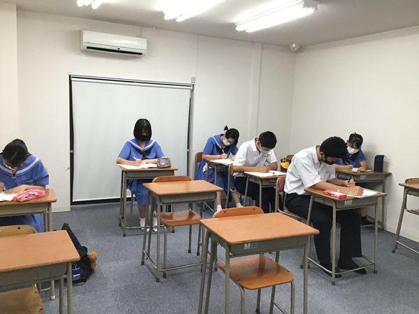 目標達成に向けて挑め!! 中間テストー朝倉 甘木 塾 学習館